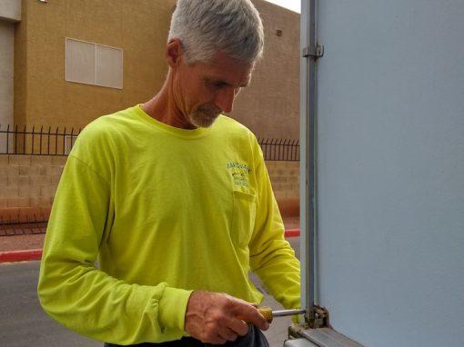 Chris Copeland, owner of Aardvark Affordable Lock Service
